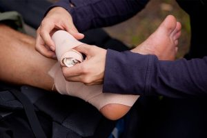 first-aid-bandage-sprain